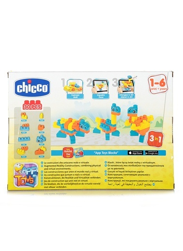 Toy Buıldıng Blocks Dınosaurs Set 30 Pcs-Chicco